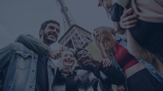 franceses não são amistosos com turistas